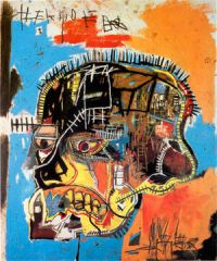 untitled (skull) jean-michel basquiat