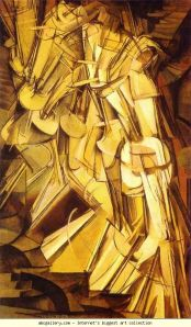 nude descending a staircase marcel duchamp