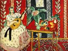 the lute henri matisse