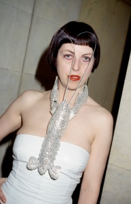Isabella Blow at the American Embassy in Paris, 1998