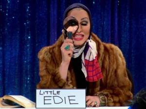 a tribute to jinkx monsoon as little edie