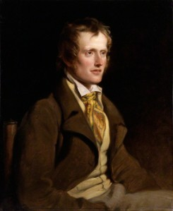 john clare, painted by william hilton in 1820